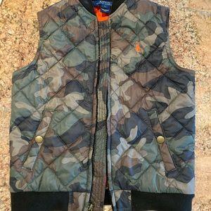 Polo Ralph Lauren Boys Camouflaged Camo Vest size5